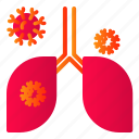 covid, disease, infection, lung