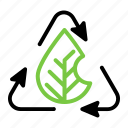eco, ecology, green, recycle icon