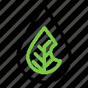 eco, leaf, life, water