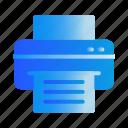 device, inkjet, machine, printer, printing icon