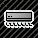 appliances, conditioner, home icon