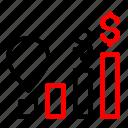digital, marketing, money, trading, trafic icon