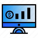computer, monitoring, report, sales