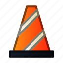 cone, construction, road, sign, traffic
