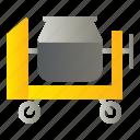 cement, construction, machine, mixer, equipment icon