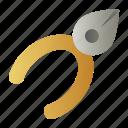 tools, carpenter, cutting, plier, equipment icon