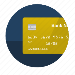 buy, card, credit, gold, pay icon