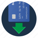 terminal, credit, card, insert icon