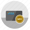 card, credit, money, nfc, pay icon