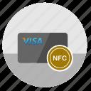card, credit, money, nfc, pay