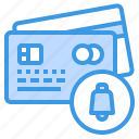 banking, buy, credit card, money, notification, payment icon