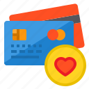 banking, buy, credit card, heart, love, money, payment