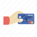 card, charge, credit, credit card in hand, mastercard, online, payment