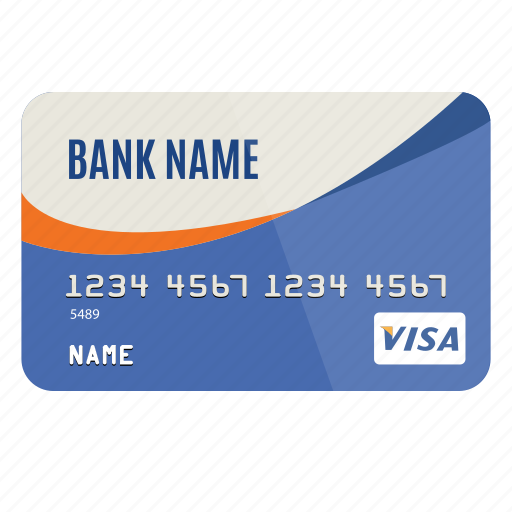 bank, credit card, dollar, money, pay, payment, visa icon