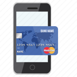 card, credit, mobile, online, pay, payment, store icon