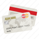 bank, charge, credit cards, debit, money, pay, payment icon