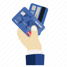 boss, cards, credit, credit card in hand, debit, hand, mastercard icon