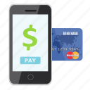 card, credit, mobile payment, money, online, pay, payment