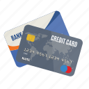 bank, card, cards, charge, credit, debit, payment icon