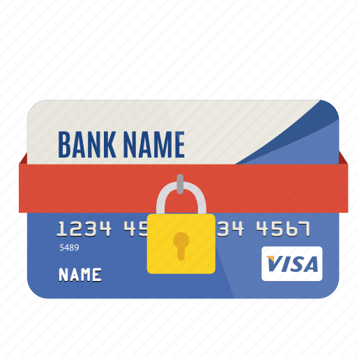 card, credit, money, pay, protected, safe, security icon