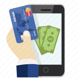 card, credit, mastercard, mobile payment, online, pay, payment icon