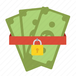 bank, money, pay, payment, protection, safe, security icon