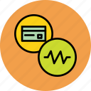 activity, banking, card, credit, debit, recent, status icon