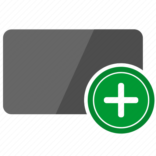 add, card, credit, operation, plus icon