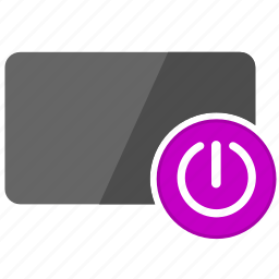 access, card, credit, enter, login, on, power icon