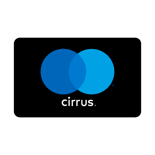 charge, cirrus, credit card, payment icon