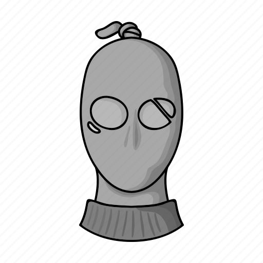 assault, criminal, face, head, mask, robbery, thief icon