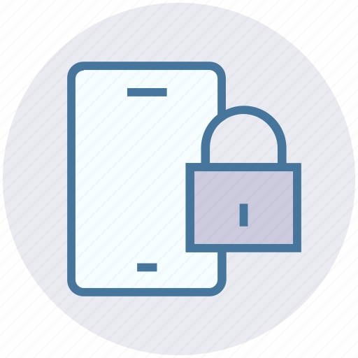 lock, mobile, mobile code, mobile secure, password icon