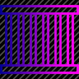 block, cell, crime, criminal, jail, prison, prisoner icon