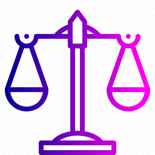 balance, judicial, justice, law, legal, scale, system icon