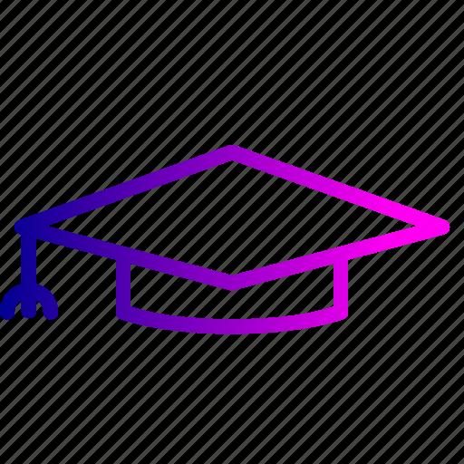 crime, dress, graduate, hat, jurist, law icon