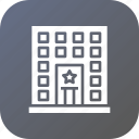 building, law, police, prison, station icon