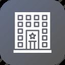 building, law, police, prison, station icon