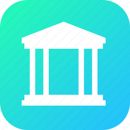 court, judicial, justice, legal, room, system icon