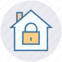 home insurance, house security, lock, lock house, security