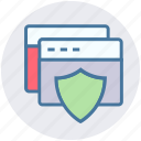 pages, protection, safe, security, shield icon