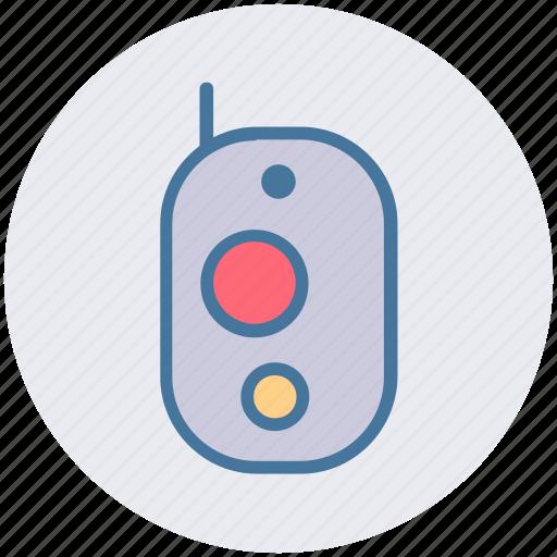 communication, intercom, police radio, protable mobile, walkie talkie icon