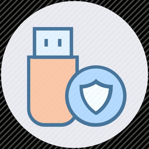 Cross, data, disk, storage, usb icon - Download on Iconfinder