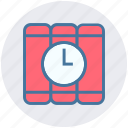 bomb, countdown, detonator, explosion, time bomb icon
