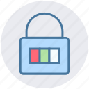 lock, padlock, password, secure, security icon