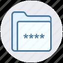 folder code, folder password, folder secure, password, security