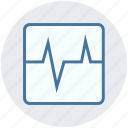 ecg, ecg machine, ekg, electrocardiogram, security icon