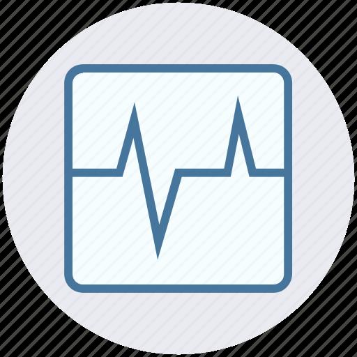 Ecg, ecg machine, ekg, electrocardiogram, security icon - Download on Iconfinder
