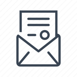 document, justice, law, legal, letter icon