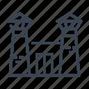 jail, prison icon