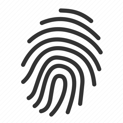 evidence, finder, finger print, gestureworks, proof, security, touch icon